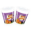 wholesale Houshold & Kitchen: Plastic cups  Halloween 8 pcs 200 ml