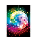 wholesale Table Linen: Disco Fever Table Cover 137 * 259 cm
