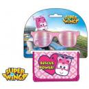 Sunglasses + Wallet Set Super Wings
