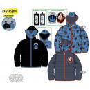 Star Wars reversible kid lined jacket 4-10 years