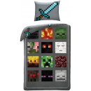 Minecraft bed sheets 140 × 200cm, 70 × 90 cm