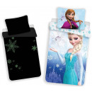 wholesale Bedlinen & Mattresses: Luminous bedding in the dark Disney frozen