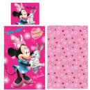 Pościel dla dzieci Disney Myszka Minnie 90 x 140cm