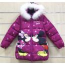 Kindergefütterte Jacke für Disney Minnie 3-8 Jahre