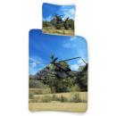 nagyker Ágyneműk és matracok: Helikopter ágyneműhuzat 135×200cm, 80×80 cm