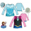 grossiste Articles sous Licence: long t-shirt pour  enfants, haut Disney frozen , co