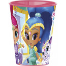 Shimmer and Shine glass, plastic 260 ml