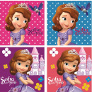 Hand towel face towel, towel Disney Sofia 30 * 30c