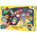 Space, magnetic board game 65 pieces