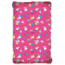 Fitted Sheet Peppa Pig 90 * 200 cm