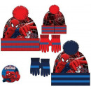 Children's hats & gloves set Spiderman, Sp