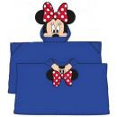 Plush Hooded Duvert Poncho Disney Minnie 80 * 120