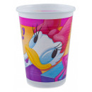 DisneyDaisy plastic cup 10 pcs 200 ml