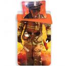 Fireman, Firefighter bedding 140 × 200cm, 70 × 90
