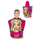 Barbie towel poncho 55 * 110 cm