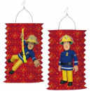 Fireman Sam , Sam is the firefighter Lampion