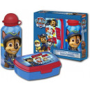 Sandwich box + Aluminum bottle set Paw Patrol
