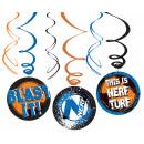 Nerf Ribbon decoration set of 6 pieces