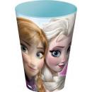Disney Frozen, vetro congelato, plastica 430 ml