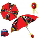 Children patterned umbrella handle Spiderman