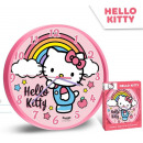 wholesale Clocks & Alarm Clocks: Hello Kitty Wall clock 25cm