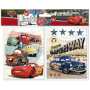 Colorable Notebook Stickers with Disney Cars , Ver