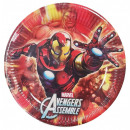 wholesale Party Items: Avengers , Avengers Paper Plate 8 pcs 23 cm