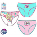 My little pony kid's lingerie, panties 3pcs /