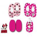 Kid in winter slippers DisneyMinnie