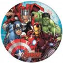 Avengers , Papierowy talerz Avengers 8 szt.19,5 cm