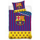 Bedclothes FCB, FC Barcelona 140 × 200cm, 70 × 80