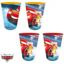 Glass Set - 4 Piece Disney Cars , Verdas