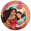 Disney Elena of Avalor Paper Plate 8 x 23 cm