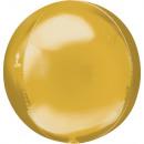 Sphere Gold Foil Balloons 53 cm