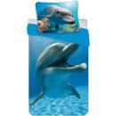 Großhandel Bettwäsche & Matratzen: Dolphin, Dolphin  Leinen 140 x 200 cm, 70 x 90 cm