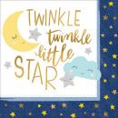mayorista Regalos y papeleria: Twinkle , Twinkle , servilleta pequeña estrella co