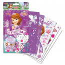 Disney Sofia sticker and decoration template set