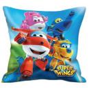 Super Wings pillow, cushion 35 * 35 cm