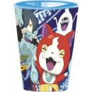 grossiste Articles de fête: Yo-kai verre  Watch, en plastique 260 ml