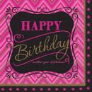Happy Birthday Tovaglioli 16 pezzi 24.7 * 24.7 cm