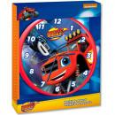 grossiste Horloges & Reveils: Horloge murale Blaze, 25 cm Flamme