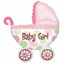 Baby Girl fólia lufi
