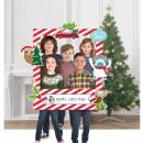 Cornice selfie in carta natalizia 15 pezzi