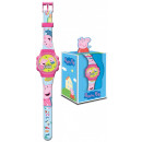 wholesale Watches: Digital watch box with Peppa Pig