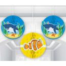 Großhandel Geschenkartikel & Papeterie: Lampion Ocean, Ozean 17,78 cm