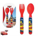 Cutlery Set - 2 Piece Disney Verdas, Cars