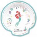 DisneyPrincess . Ariel Cake paper plate 4 pcs