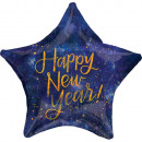 Holographic Happy New Year Foil Balloon 48 cm