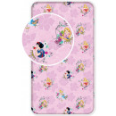 Fitted Sheet Disney Princess , Princesses 90 * 200