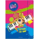 Littlest Pet shop A / 4 rubber folder